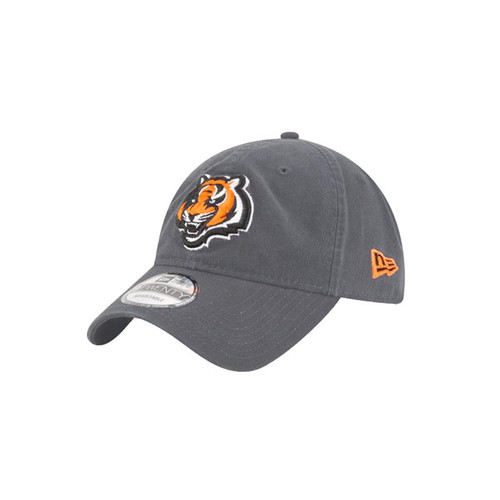 Cincinnati Bengals New Era Core Classic Grey 9Twenty Adjustable Hat