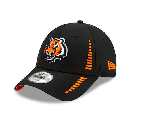 Cincinnati Bengals New Era Speed 9FORTY Adjustable Hat - Black