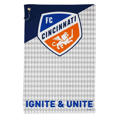 FC Cincinnati 16'' x 25'' Sports Golf Towel