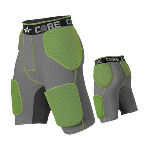 Alleson CORE Youth 5 Pad Integrated Football Girdle
