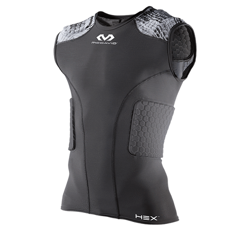 McDavid HEXPAD Hex Sleeveless 5-Pad Body Shirt