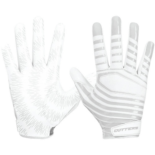 Cutters Adult Rev Pro 3.0 Solid Football Receiver Gloves