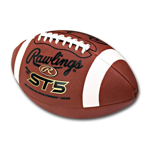 Rawlings ST5 NFHS Leather Football