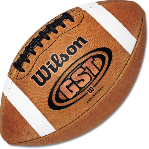 Wilson GST NCAA 1003 Game Football