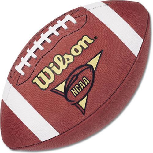 Wilson NCAA 1001 Leather Game Football