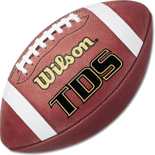 Wilson TDS 1205 NFHS Leather Game Football