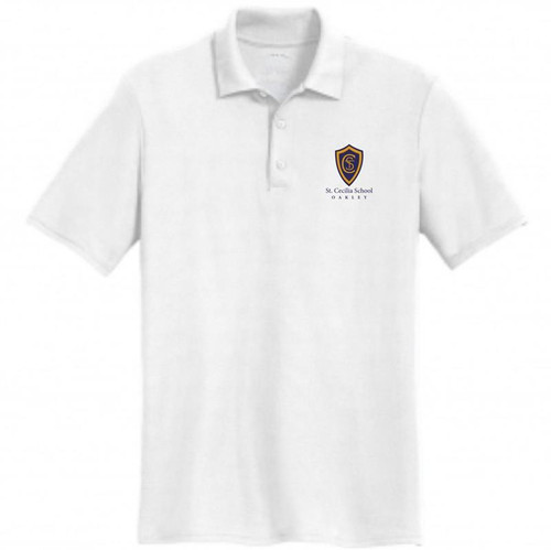 St. Cecilia Dry-Blend Jersey Knit Polo Shirt