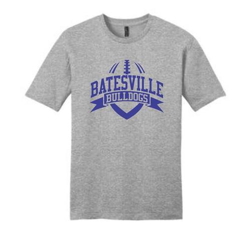 Batesville Football Light Heather Grey Blend T-Shirt