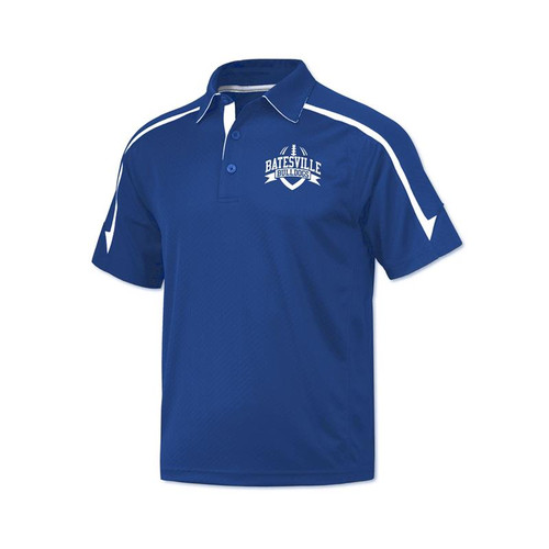 Batesville Football Men's Royal/White Coaches Polo Shirt