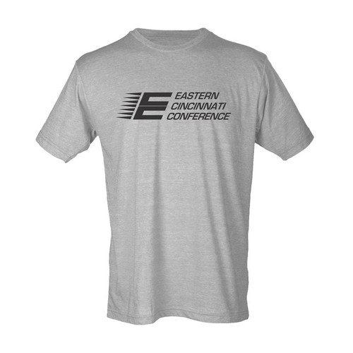 ECC Men's Tultex Poly-Rich Blend T-Shirt Heather Grey