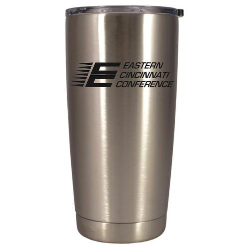 ECC Polar Camel Stainless Steel 20 oz. Tumbler w/ Clear Lid