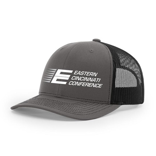 ECC Trucker Hat Charcoal/Black