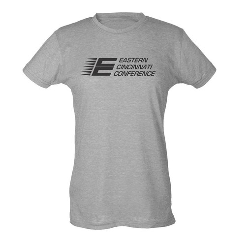 ECC Women's Tultex Poly-Rich Blend T-Shirt Heather Grey