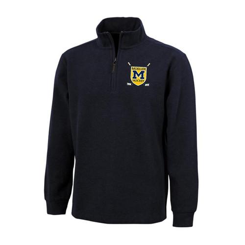 Moeller Hockey Navy Quarter Zip Pullover