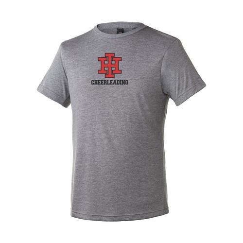 Indian Hill Cheerleading Heather Grey Blend T-Shirt