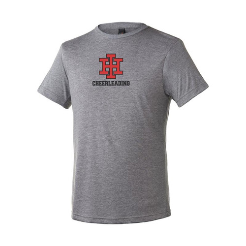 Indian Hill Cheerleading Youth Heather Grey Blend T-Shirt