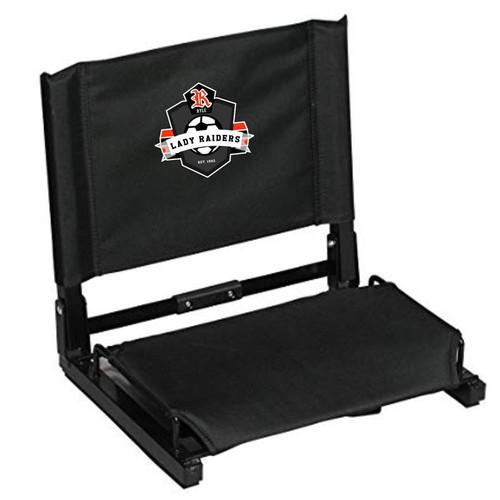 Ryle Lady Raiders Soccer Black GameChanger Stadium Chair
