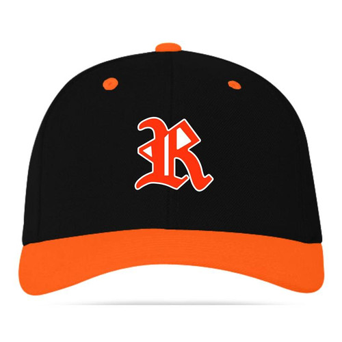 Ryle Lady Raiders Soccer Black/Orange Adjustable Cap