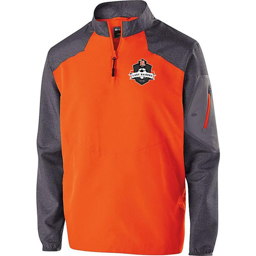 Ryle Lady Raiders Soccer Carbon Print/Orange Raider Pullover