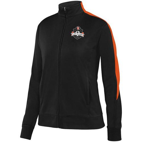 Ryle Lady Raiders Soccer Ladies Black/Orange Medalist Jacket