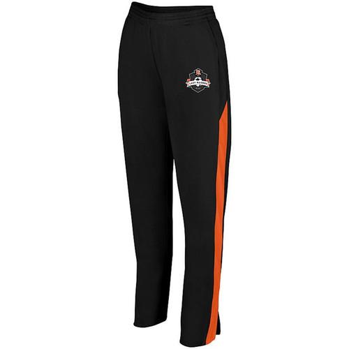 Ryle Lady Raiders Soccer Ladies Black/Orange Medalist Pant