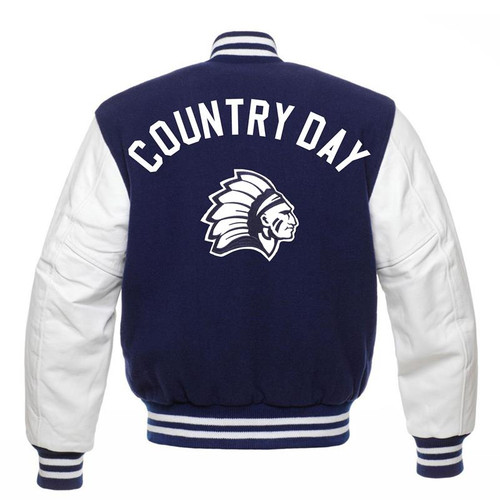 Cincinnati Country Day Varsity Jacket Full Back Option