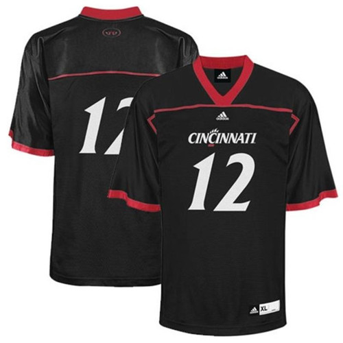 Adidas Cincinnati Bearcats Black Personalized Replica Football Jersey