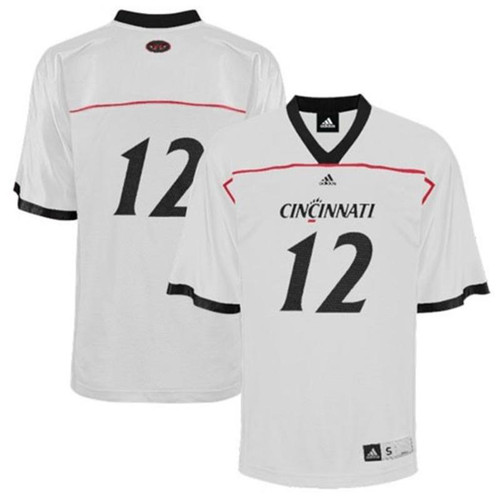 Adidas Cincinnati Bearcats White Personalized Replica Football Jersey