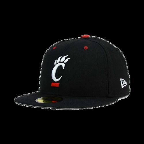 Cincinnati Bearcats New Era Black 59FIFTY Fitted Hat