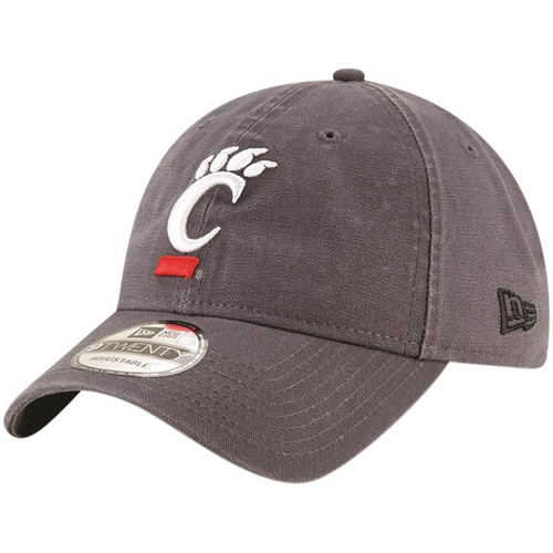 Cincinnati Bearcats New Era Gray Basic 9TWENTY Adjustable Hat