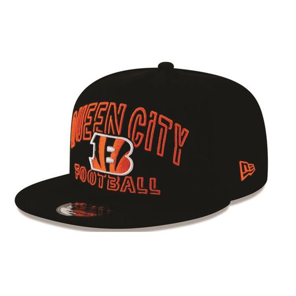 2020 Cincinnati Bengals New Era Draft Day Alt. Snapback Hat