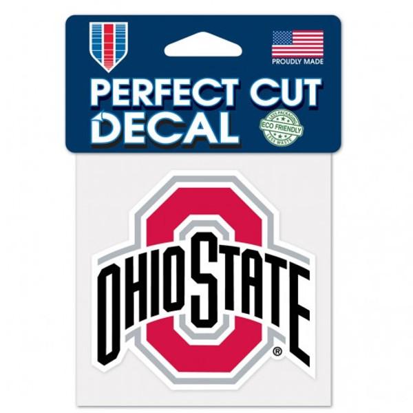 "Ohio State Buckeyes 4""x4"" Perfect Cut Decal"