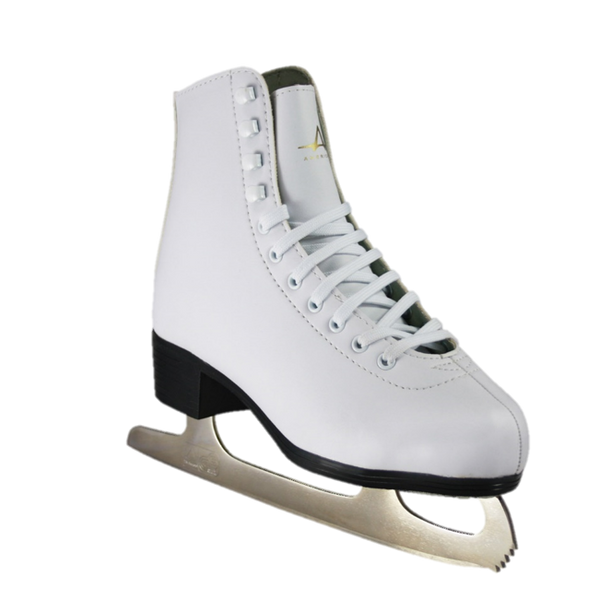 American Athletic Shoe Co. Ladies Tricot Lined Figure Skates White