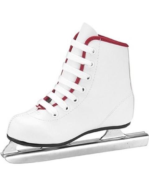 American Athletic Shoe Co. Little Rocket Double Runner Girls Figure Skates White