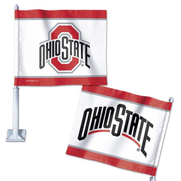 Ohio State Buckeyes Car Flag