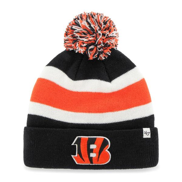 Cincinnati Bengals '47 Brand Breakaway Cuffed Beanie - Black