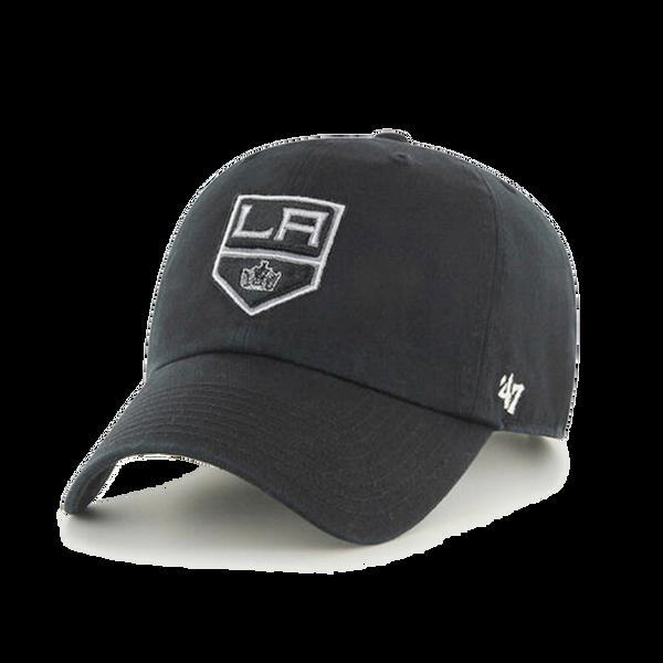 47' Brand Los Angeles Kings Black Cleanup Adjustable Hat