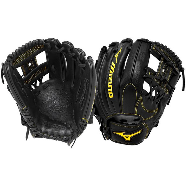 "Mizuno Classic Pro Soft 11.5"" GCP66SBK Baseball Glove"