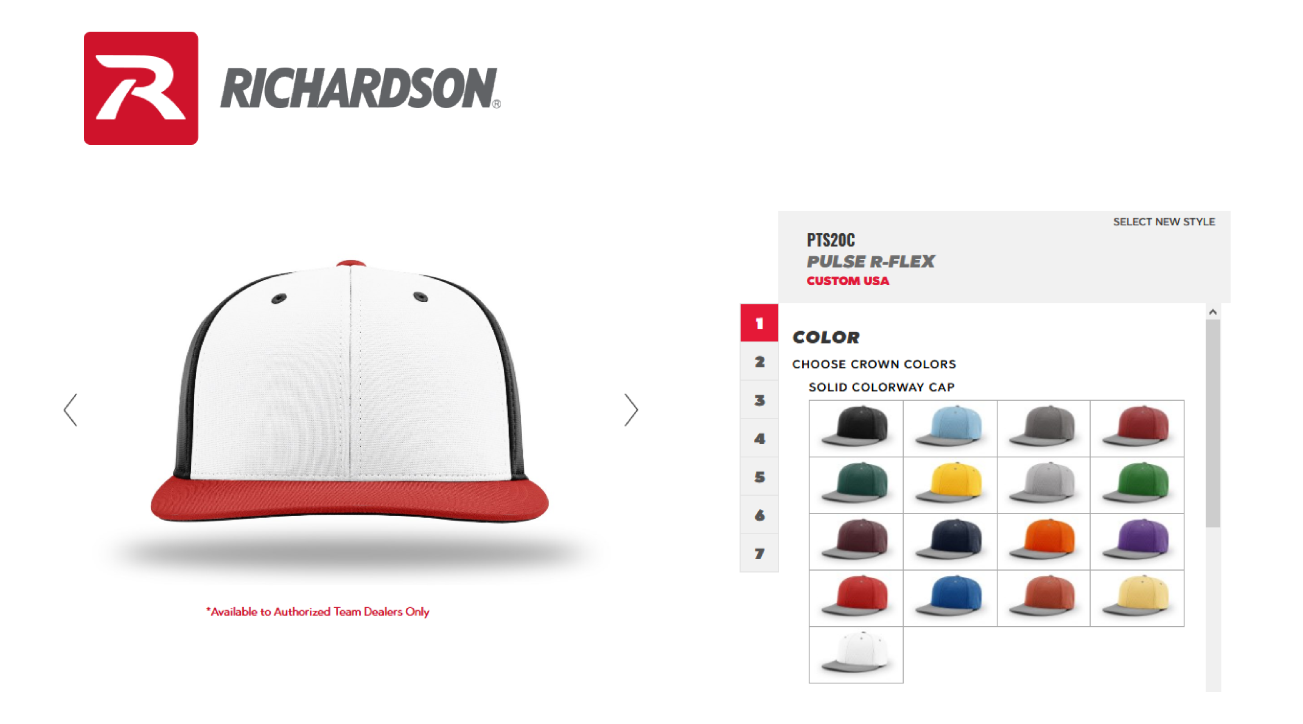 Richardson Cap Builder