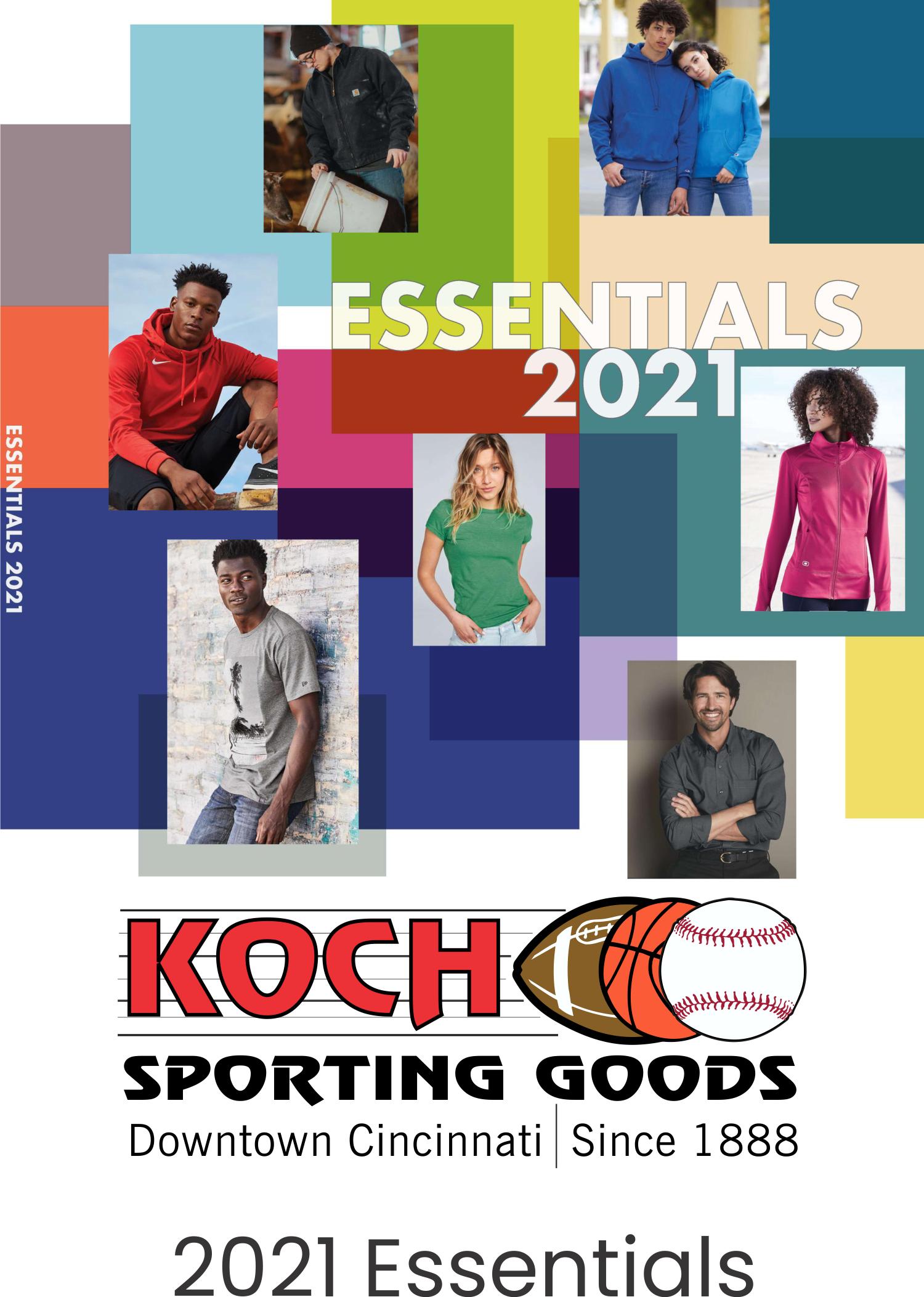 SanMar 2021 Essentials Catalog