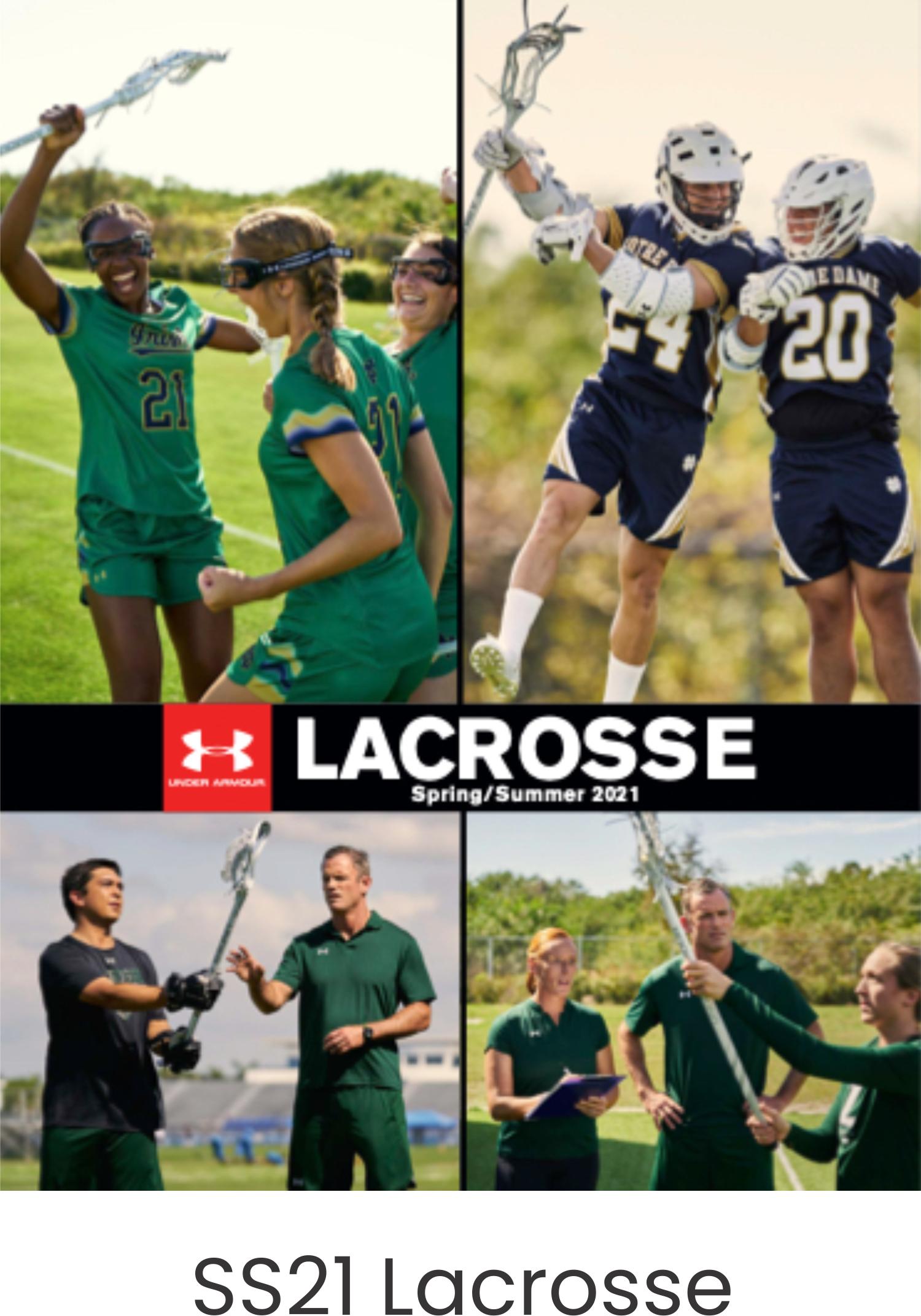 Under Armour SS21 Lacrosse Catalog