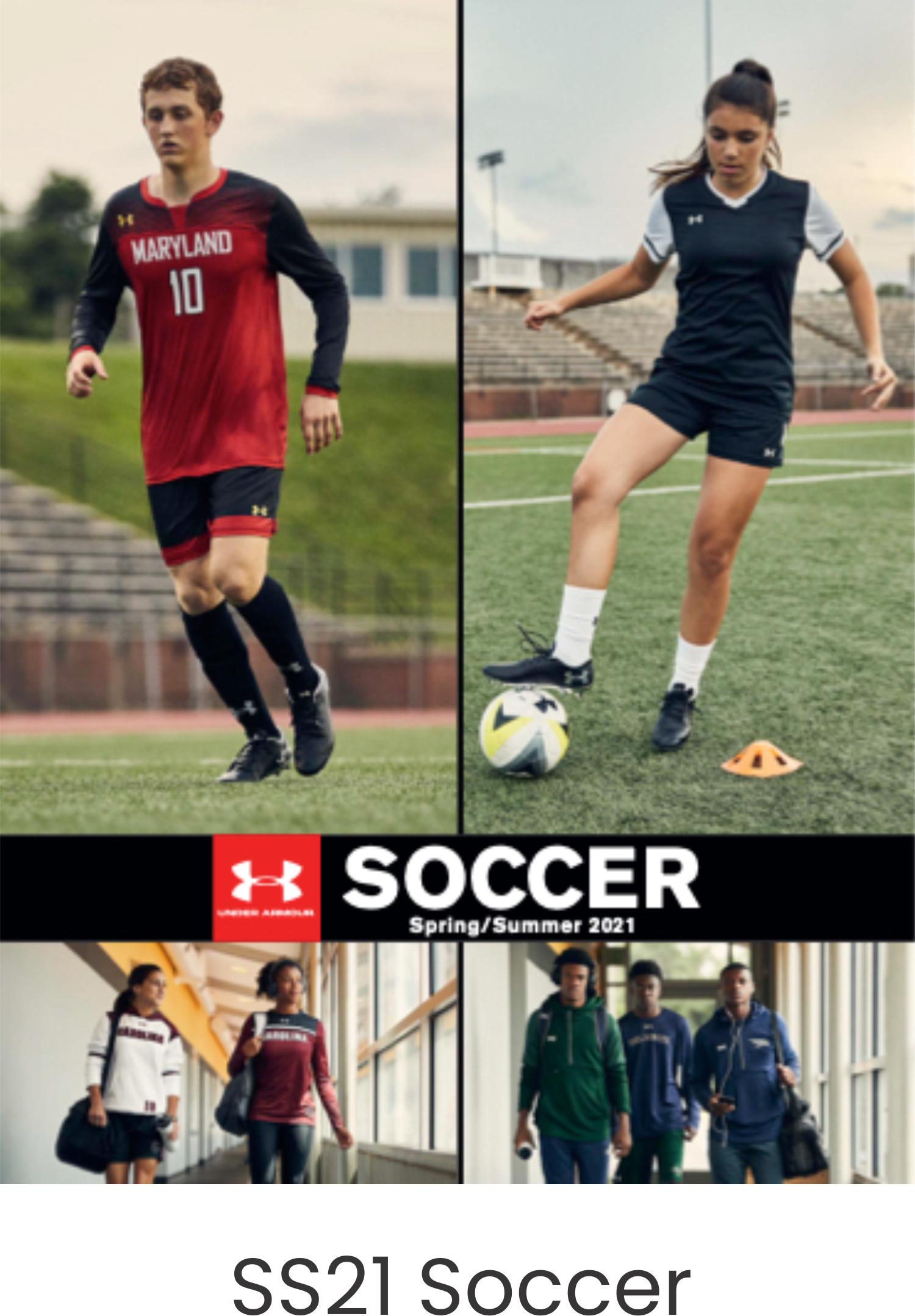 Under Armour SS21 Soccer Catalog