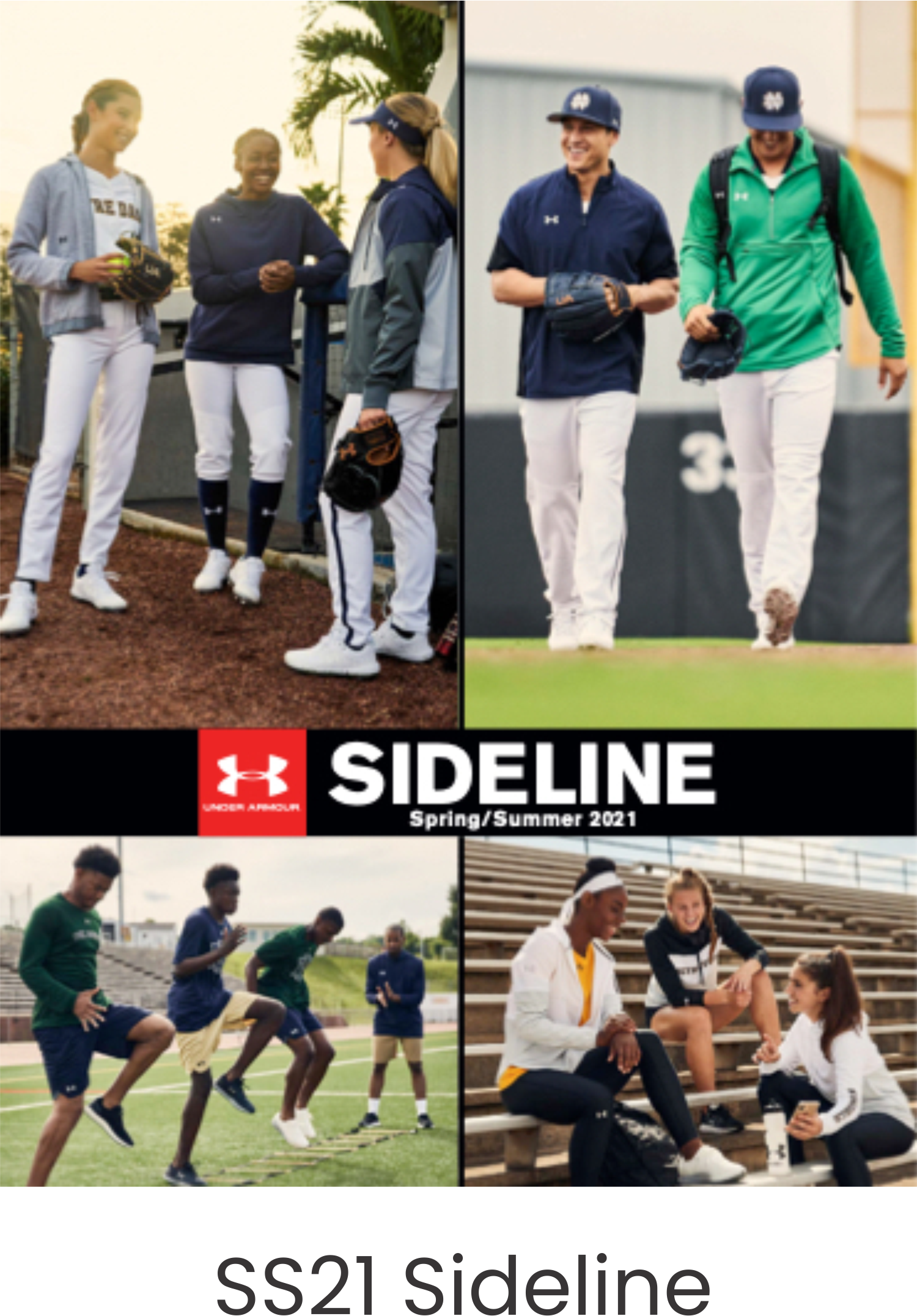 Under Armour SS21 Sideline Catalog