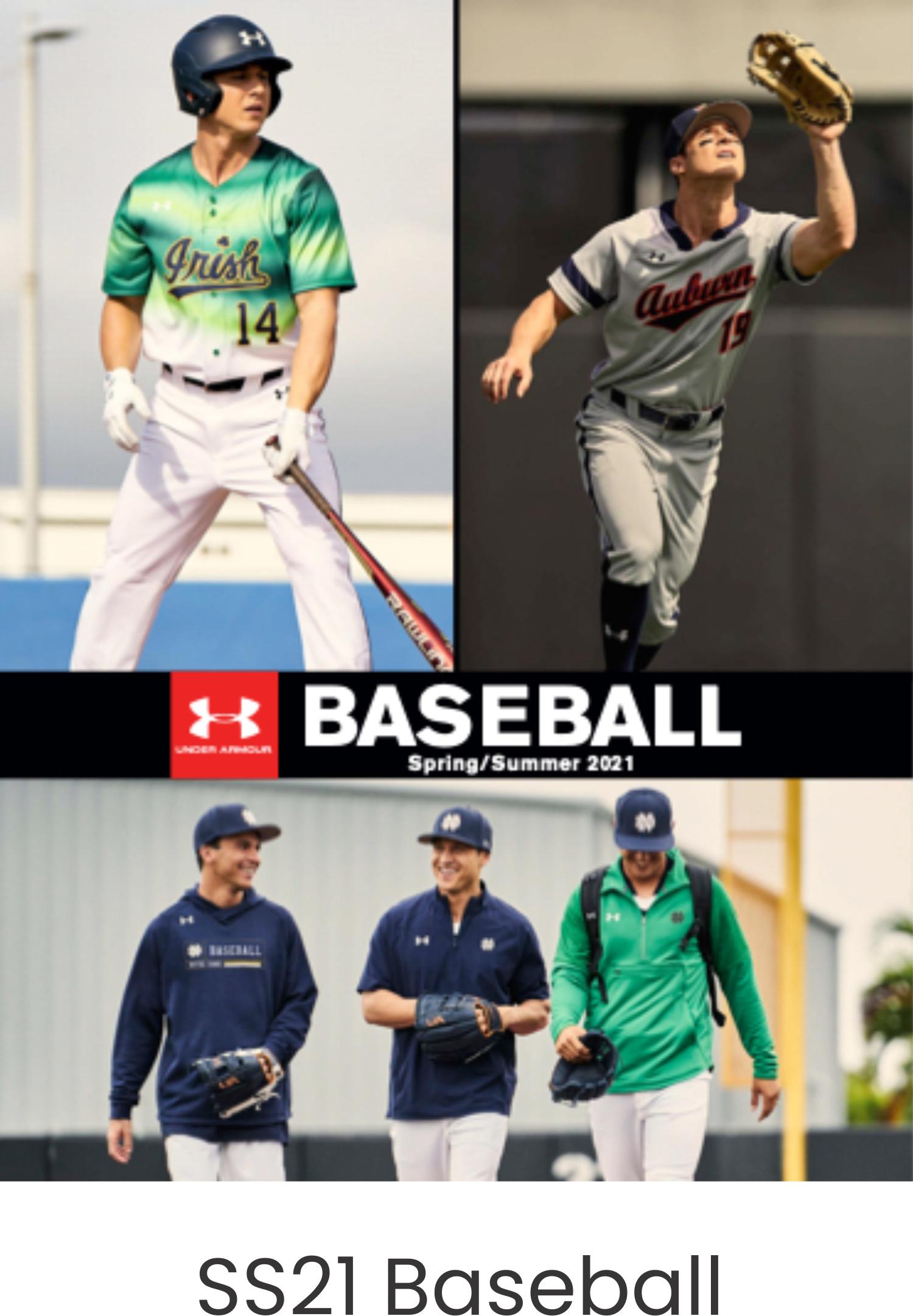 Under Armour SS21 Baseball Catalog
