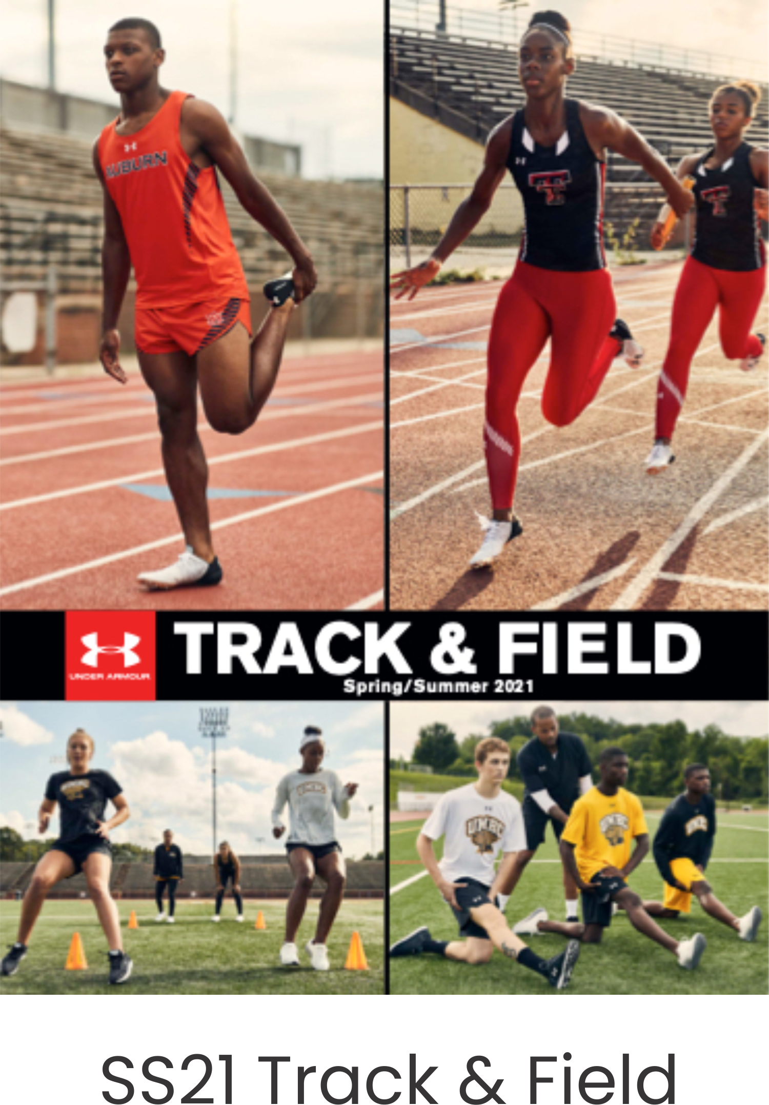 Under Armour SS21 Track and Field Catalog