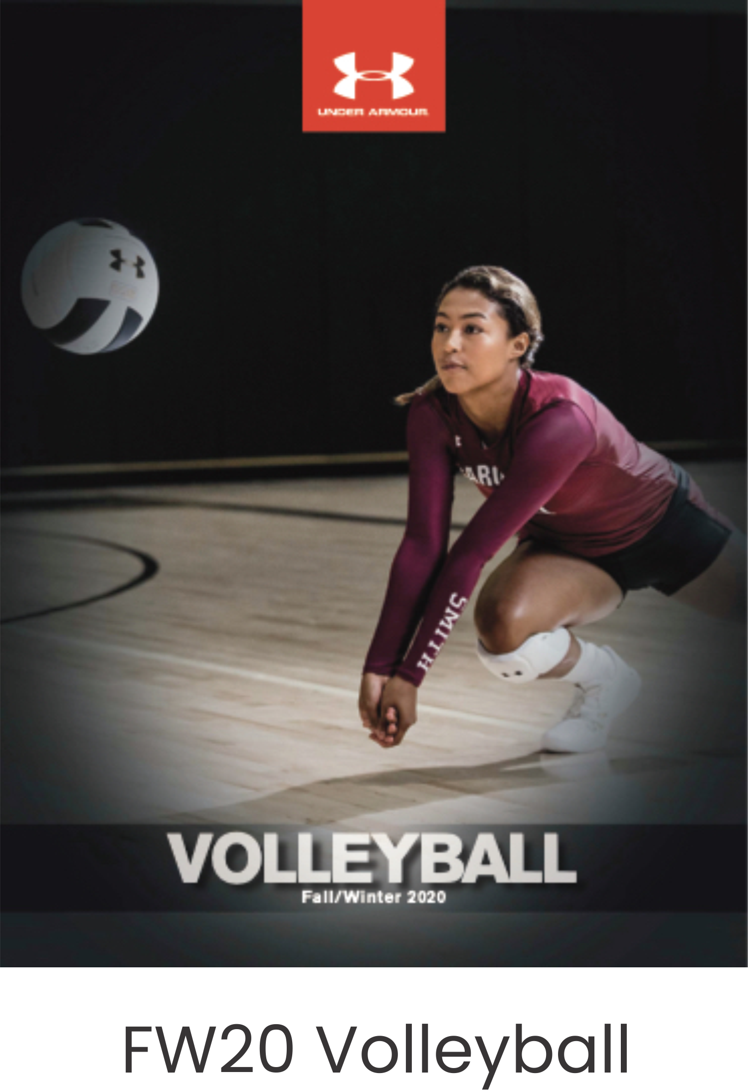 Under Armour FW20 Volleyball Catalog