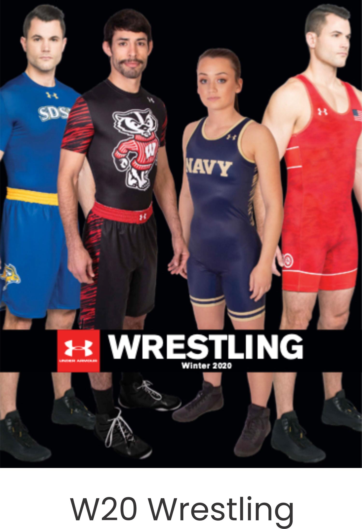 Under Armour W20 Wrestling Catalog