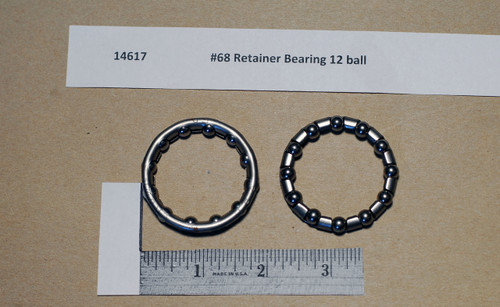 #68 Crown Retainer Bearing 12 ball - Type 1
