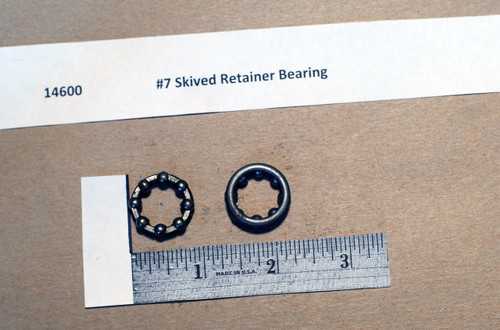 #7 Skived Retainer Bearing