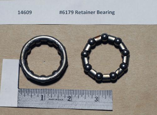 #6179 Schwinn(National)  Retainer Bearing 9 Ball